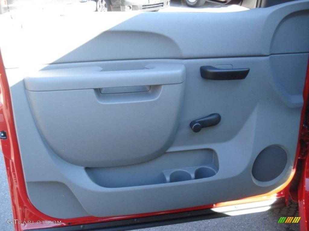 2013 Silverado 1500 LS Extended Cab 4x4 - Victory Red / Dark Titanium photo #12