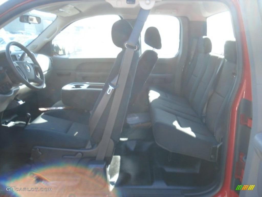 2013 Silverado 1500 LS Extended Cab 4x4 - Victory Red / Dark Titanium photo #14