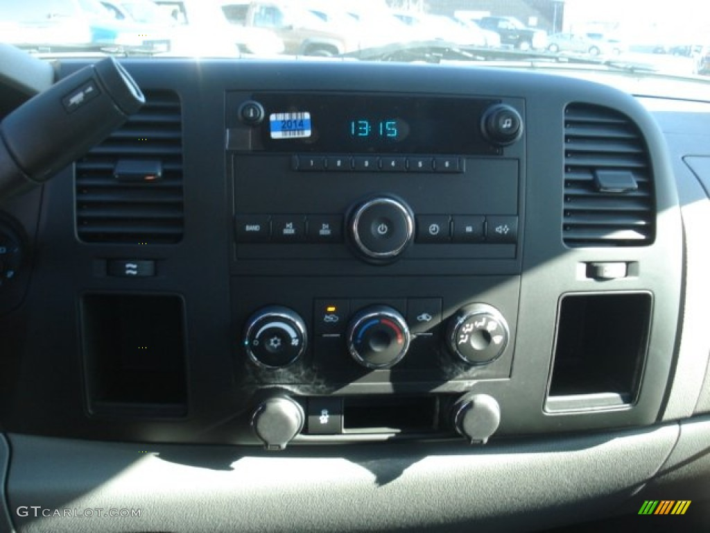 2013 Silverado 1500 LS Extended Cab 4x4 - Victory Red / Dark Titanium photo #16