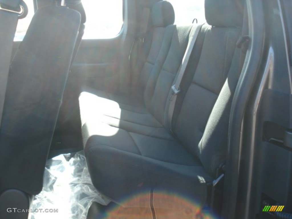2013 Silverado 1500 LS Extended Cab 4x4 - Mocha Steel Metallic / Dark Titanium photo #13