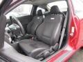 Ebony 2010 Chevrolet Cobalt SS Coupe Interior Color