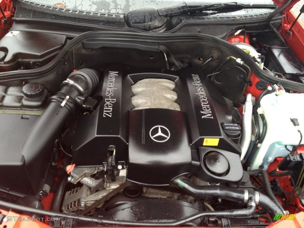 2001 mercedes benz clk 320 cabriolet 3 2 liter sohc 18 for Mercedes benz 3 5 v6 engine