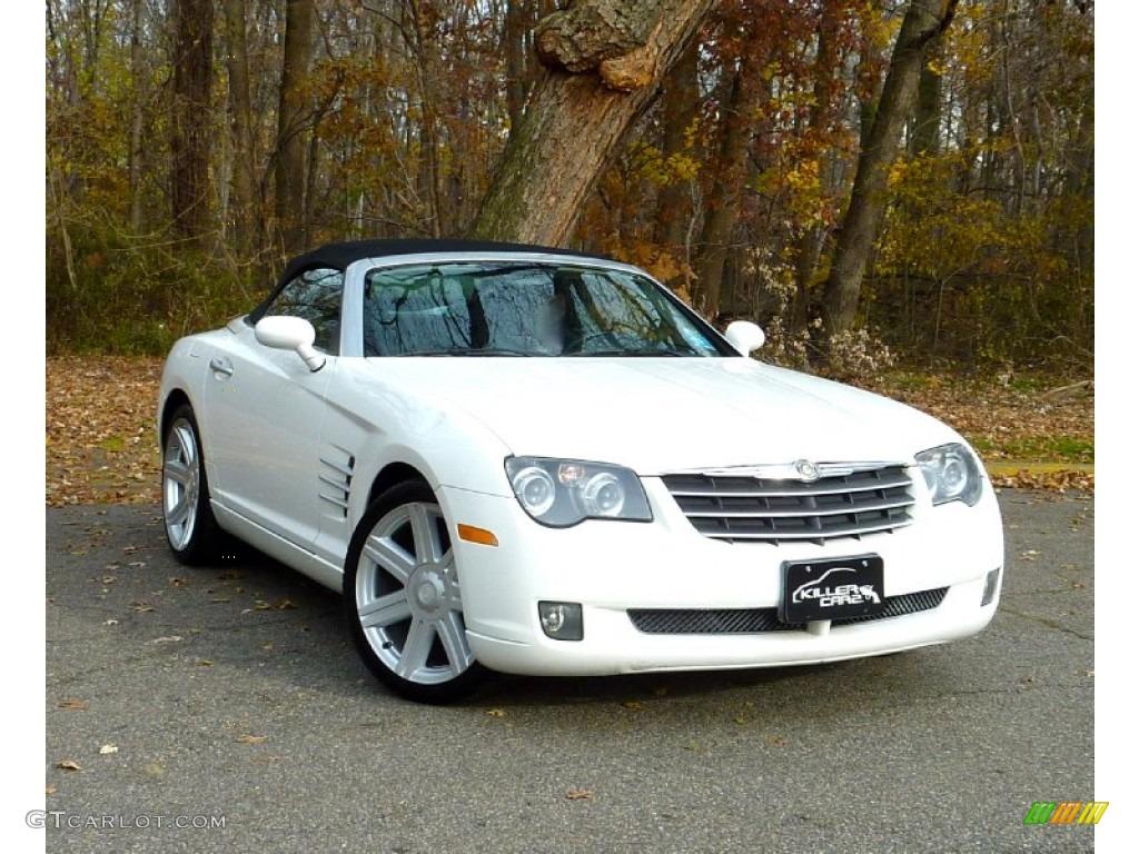 2006 alabaster white chrysler crossfire limited roadster 73581616 car color. Black Bedroom Furniture Sets. Home Design Ideas