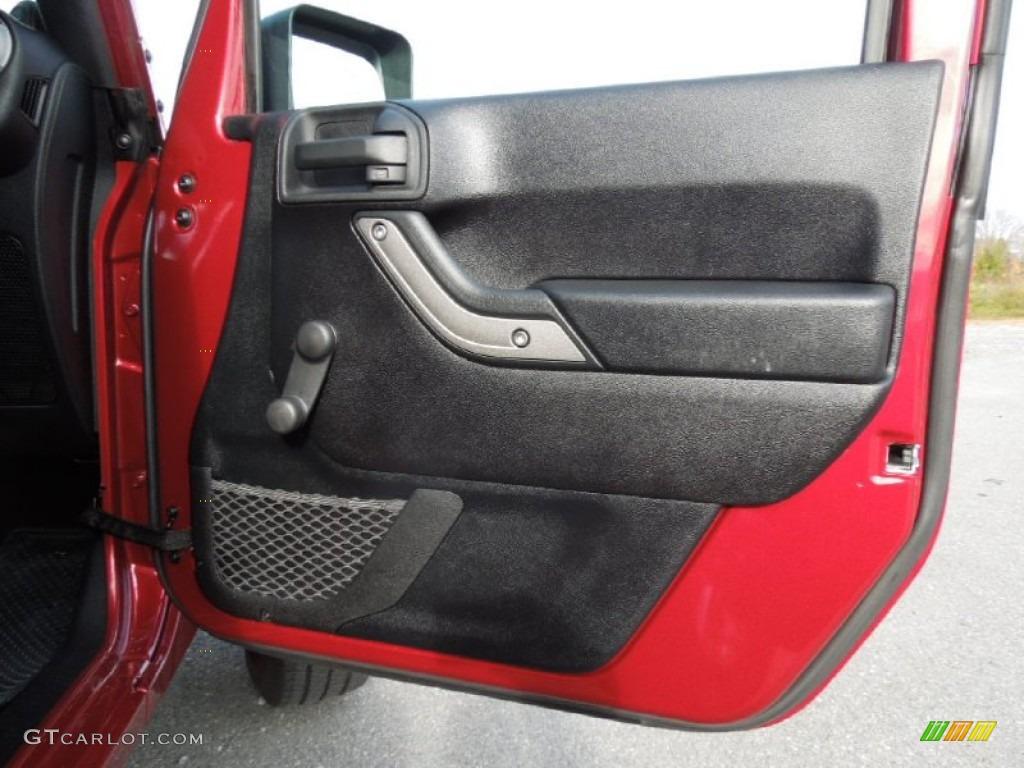 2011 Jeep Wrangler Sport 4x4 Door Panel Photos
