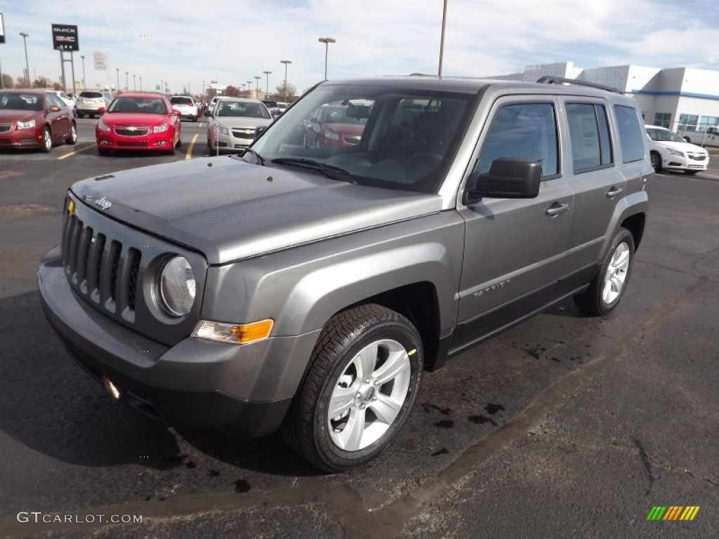 Mineral Gray Metallic 2013 Jeep Patriot Latitude Exterior
