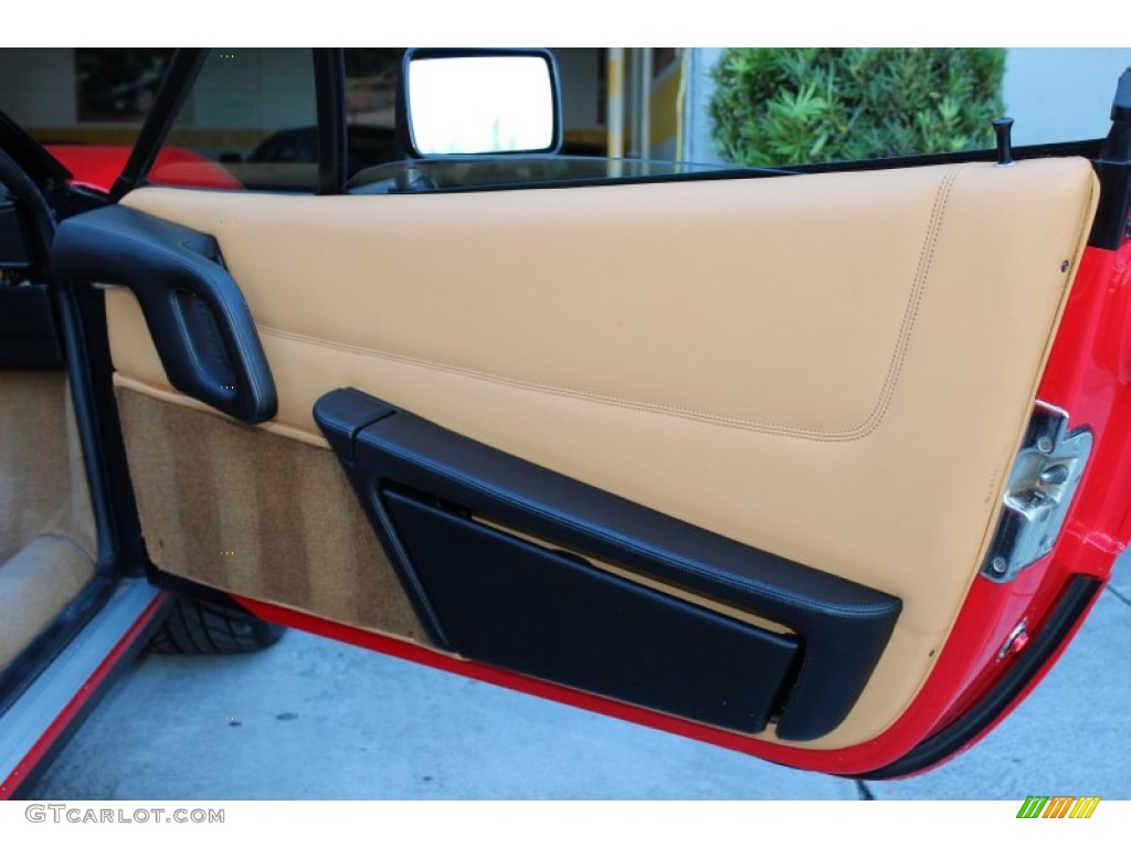 1989 Ferrari 328 Gts Tan Door Panel Photo 73643530