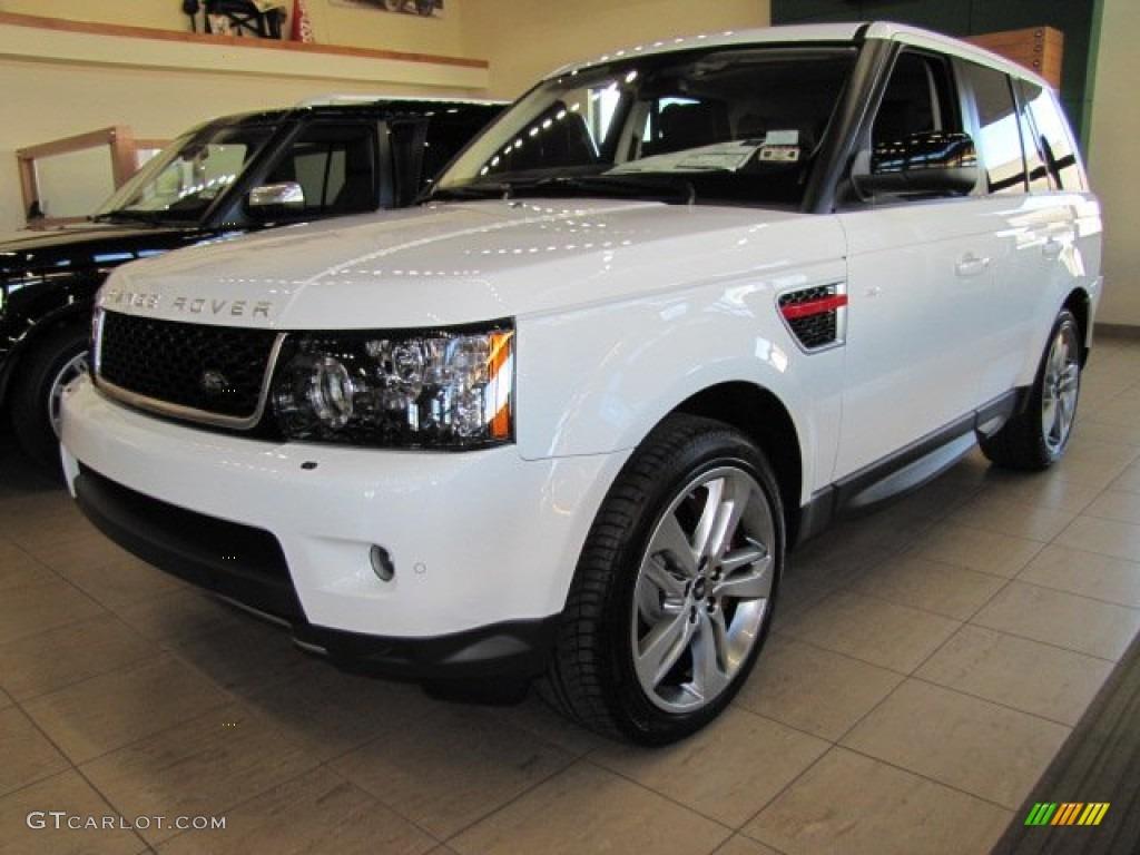 fuji white 2013 land rover range rover sport supercharged. Black Bedroom Furniture Sets. Home Design Ideas