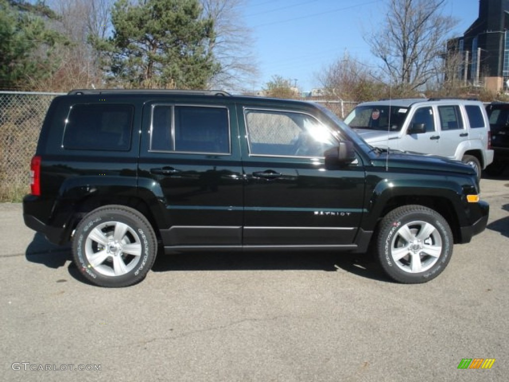 jeep patriot 2014 black. black forest green pearl 2013 jeep patriot sport 4x4 exterior photo 73653426 2014 i