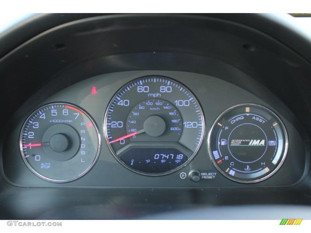 2005 Honda Civic Hybrid Sedan Gauges Photo 73653967