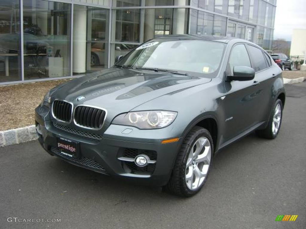 2008 Tasman Green Metallic Bmw X6 Xdrive35i 7350057