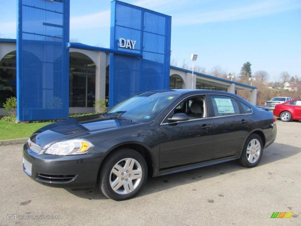 2013 Ashen Gray Metallic Chevrolet Impala Lt 73633379 Car Color Galleries