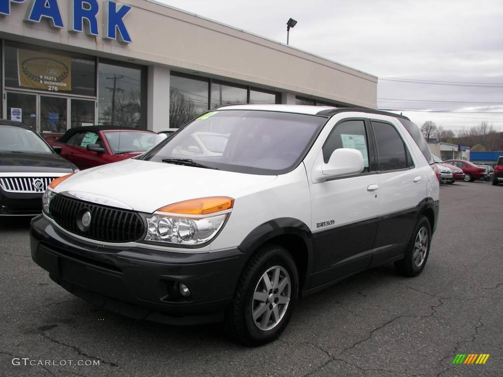 2002 Bright White Buick Rendezvous Cxl Awd 7357265
