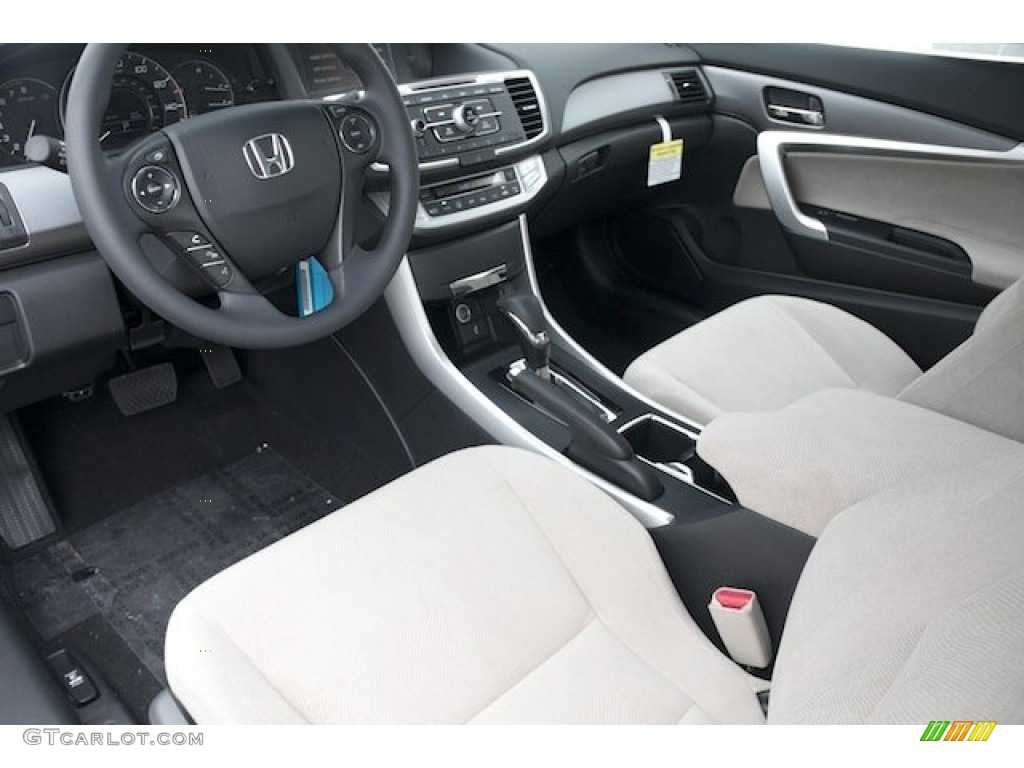 Black Ivory Interior 2013 Honda Accord Lx S Coupe Photo