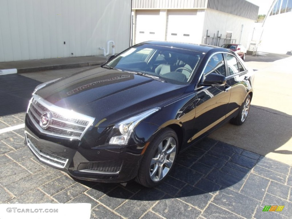 2013 Black Raven Cadillac Ats 2 5l Luxury 73680900 Car Color Galleries