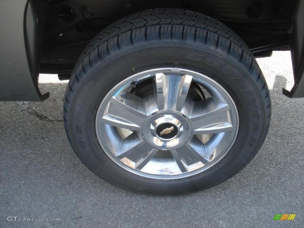 2013 Silverado 1500 LT Extended Cab 4x4 - Mocha Steel Metallic / Ebony photo #9