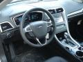 Charcoal Black Dashboard Photo for 2013 Ford Fusion #73717559