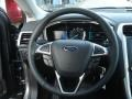Charcoal Black Steering Wheel Photo for 2013 Ford Fusion #73717709