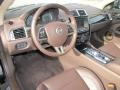 2013 Jaguar XK Portfolio Truffle/Poltrona Frau Leather Headlining Interior Prime Interior Photo