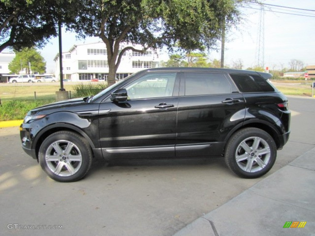 Range Rover Santorini Black Paint Code