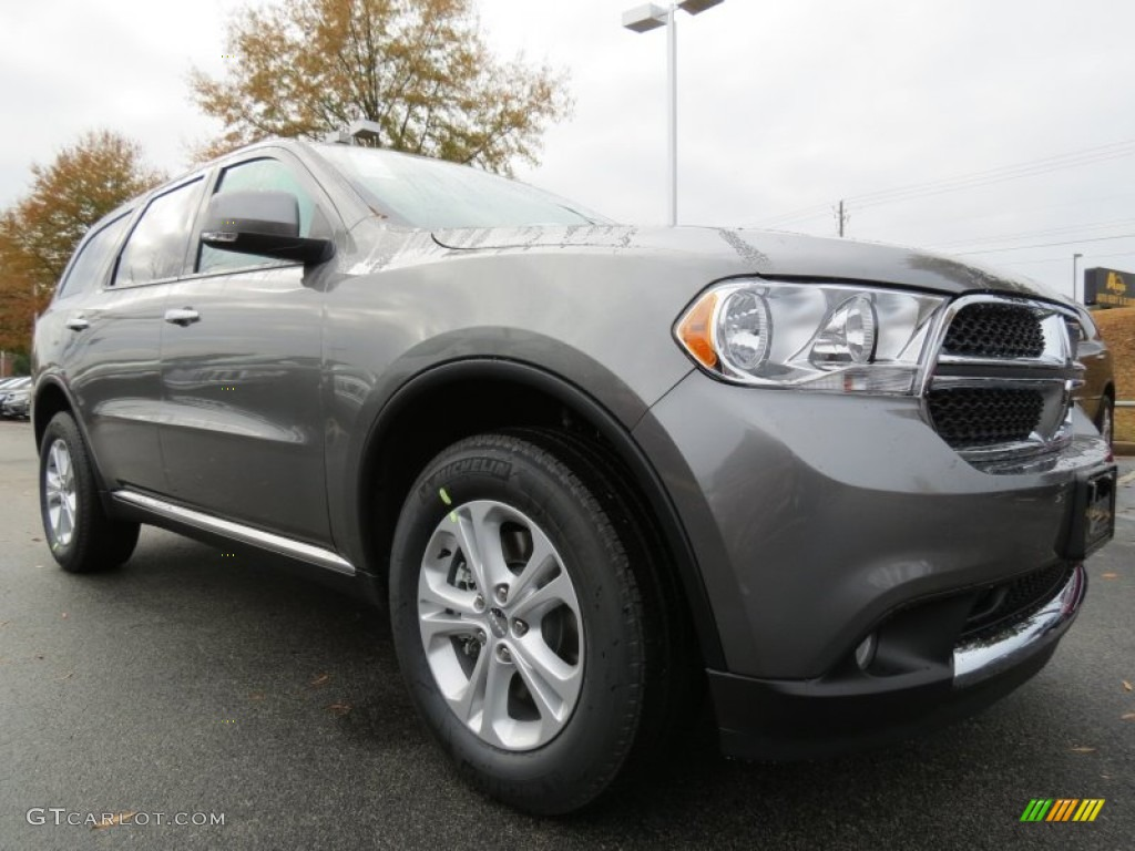 mineral gray metallic 2013 dodge durango crew exterior. Black Bedroom Furniture Sets. Home Design Ideas