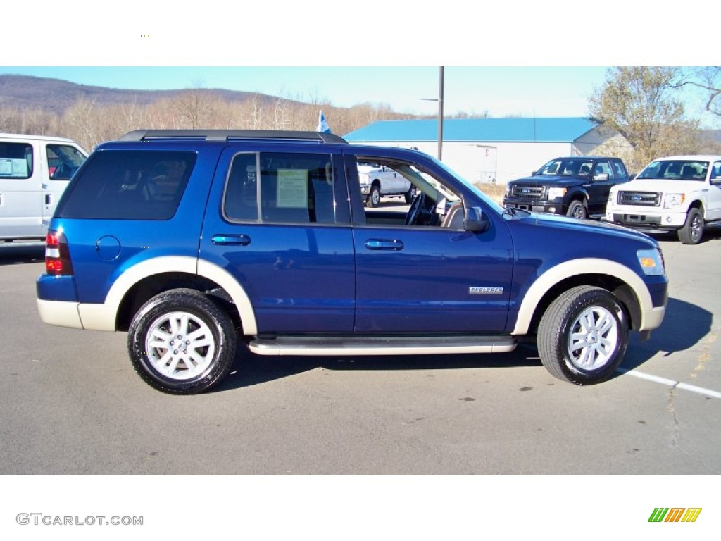 Dark Blue Pearl Metallic 2008 Ford Explorer Eddie Bauer ...