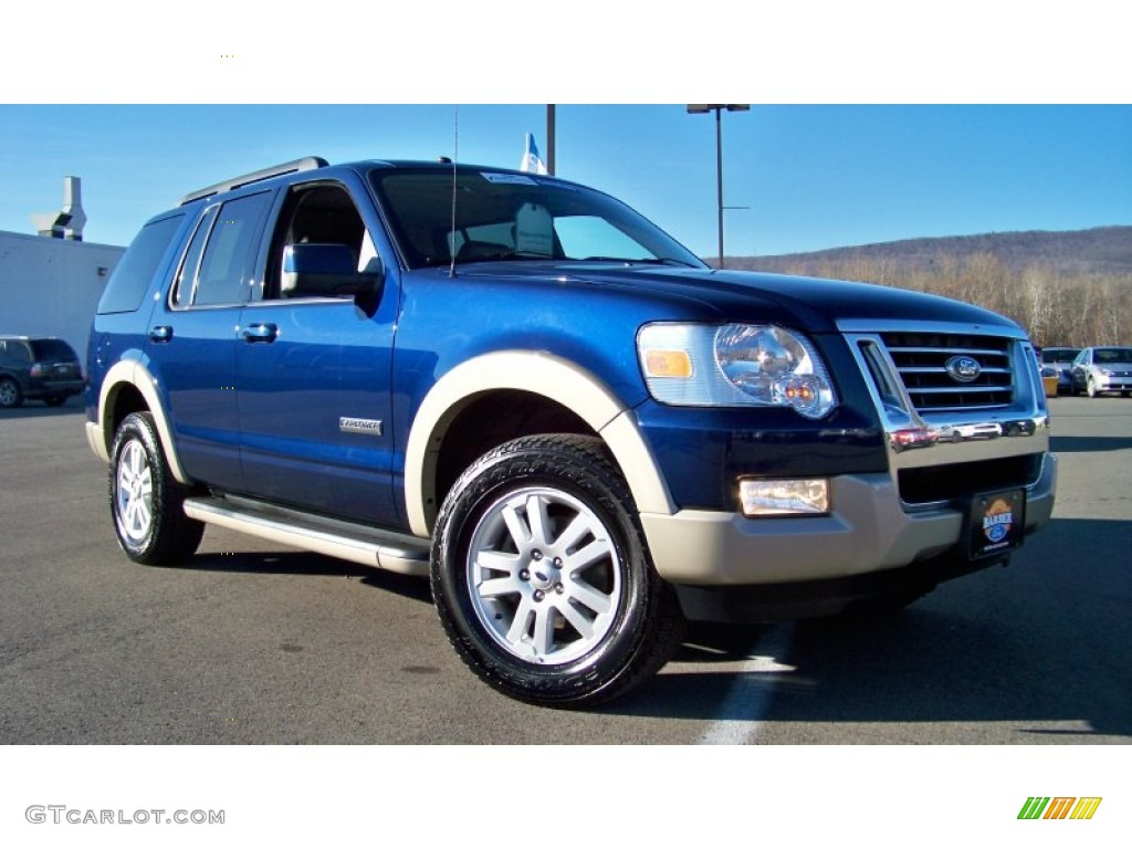 2008 Ford Explorer Eddie Bauer 4x4 Exterior Photos ...