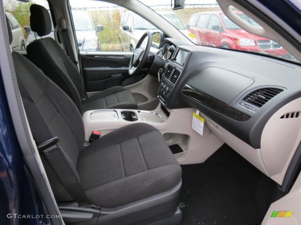 Black Light Graystone Interior 2013 Dodge Grand Caravan Sxt Photo 73733336