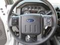 2012 White Platinum Metallic Tri-Coat Ford F250 Super Duty Lariat Crew Cab 4x4  photo #34