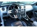 2007 Ford Mustang Black/Dove Accent Interior Prime Interior Photo