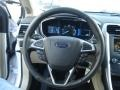 Charcoal Black Steering Wheel Photo for 2013 Ford Fusion #73744124
