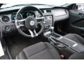 2012 Ford Mustang Charcoal Black Interior Prime Interior Photo
