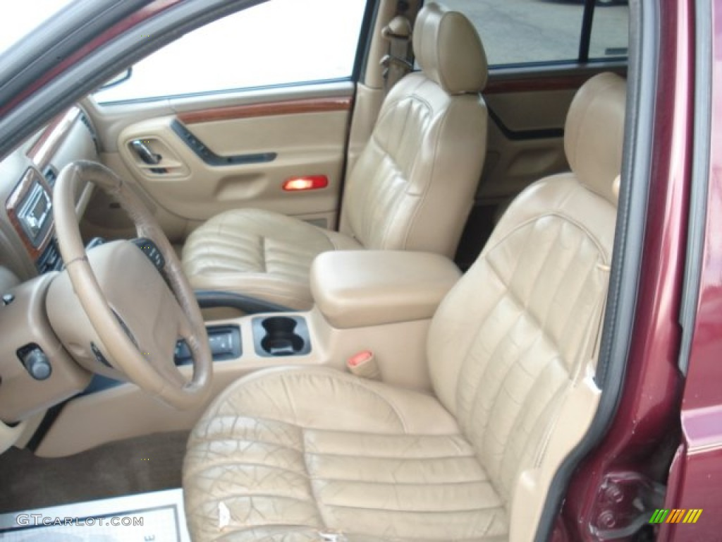 camel interior 1999 jeep grand cherokee limited 4x4 photo 73752825. Black Bedroom Furniture Sets. Home Design Ideas