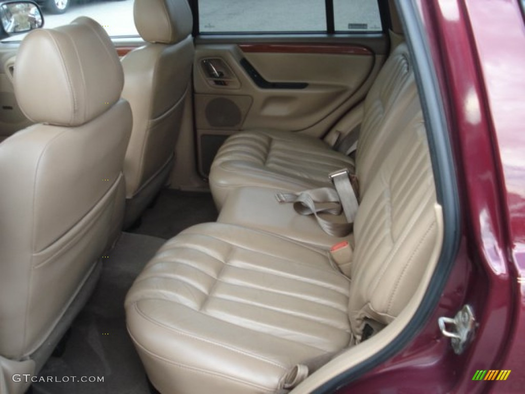 camel interior 1999 jeep grand cherokee limited 4x4 photo 73752845. Black Bedroom Furniture Sets. Home Design Ideas