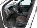 2013 Ford Explorer Charcoal Black/Sienna Interior Interior Photo