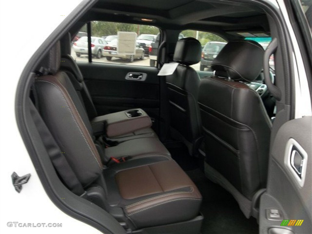 Charcoal Black/Sienna Interior 2013 Ford Explorer Sport 4WD Photo #73755938