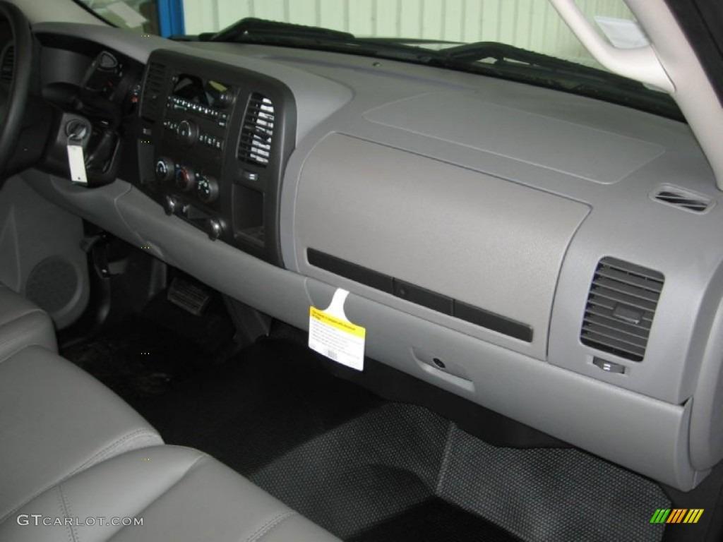 2013 Silverado 1500 LS Regular Cab - Black / Dark Titanium photo #12