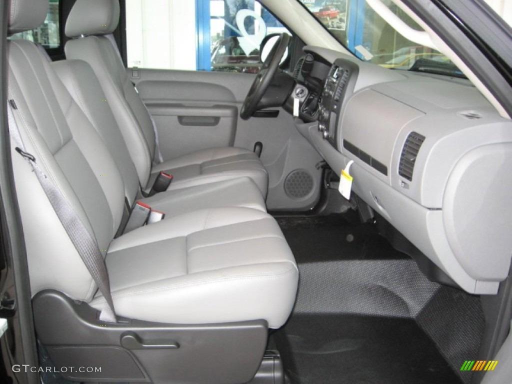 2013 Silverado 1500 LS Regular Cab - Black / Dark Titanium photo #13