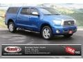 2008 Blue Streak Metallic Toyota Tundra Limited CrewMax 4x4  photo #1