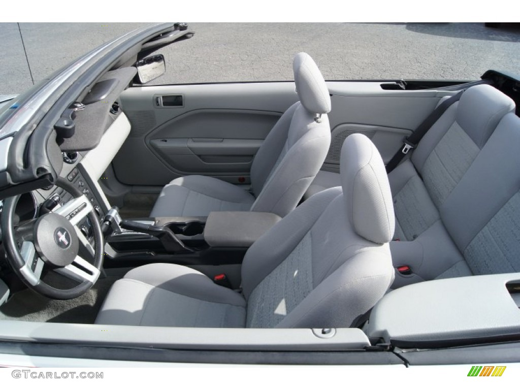 2006 Ford Mustang V6 Deluxe Convertible Interior Color Photos