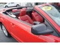 2007 Torch Red Ford Mustang GT Premium Convertible  photo #35