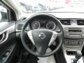 2013 Nissan Sentra Charcoal Interior Steering Wheel Photo
