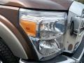 2012 Golden Bronze Metallic Ford F250 Super Duty Lariat Crew Cab 4x4  photo #20