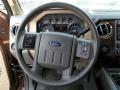 2012 Golden Bronze Metallic Ford F250 Super Duty Lariat Crew Cab 4x4  photo #56