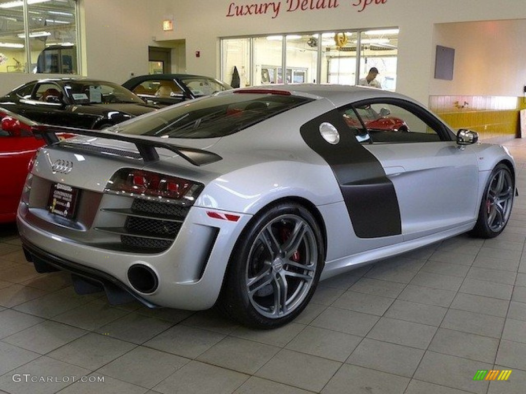 Ice Silver Metallic 2012 Audi R8 Gt Exterior Photo