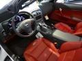 Red 2013 Chevrolet Corvette Interiors
