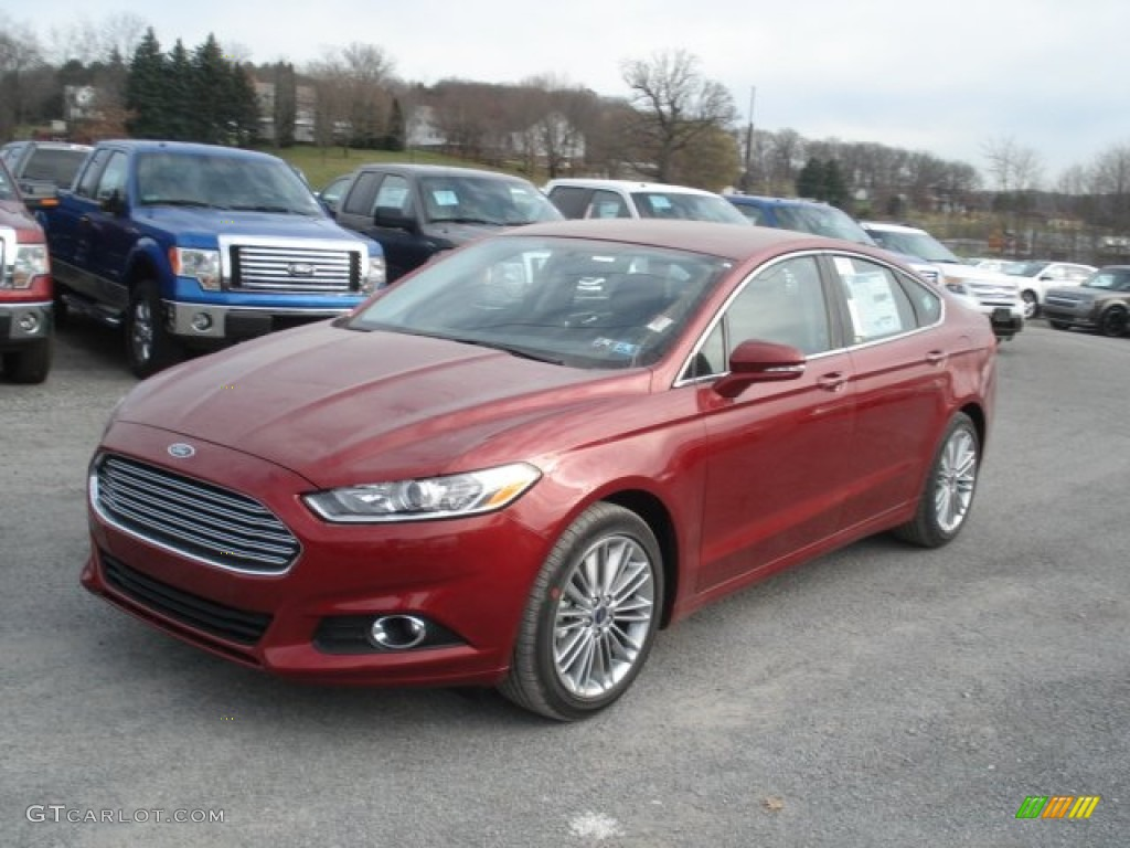 Ruby Red Metallic 2013 Ford Fusion Se 1 6 Ecoboost Exterior Photo 73786063
