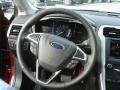 Charcoal Black Steering Wheel Photo for 2013 Ford Fusion #73786298