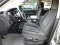 Dark Slate Gray Front Seat Photo for 2002 Dodge Ram 1500 #73786823