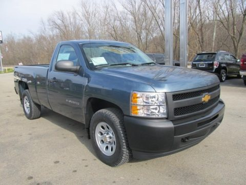 2013 Chevrolet Silverado 1500 Work Truck Regular Cab 4x4 Data, Info and Specs