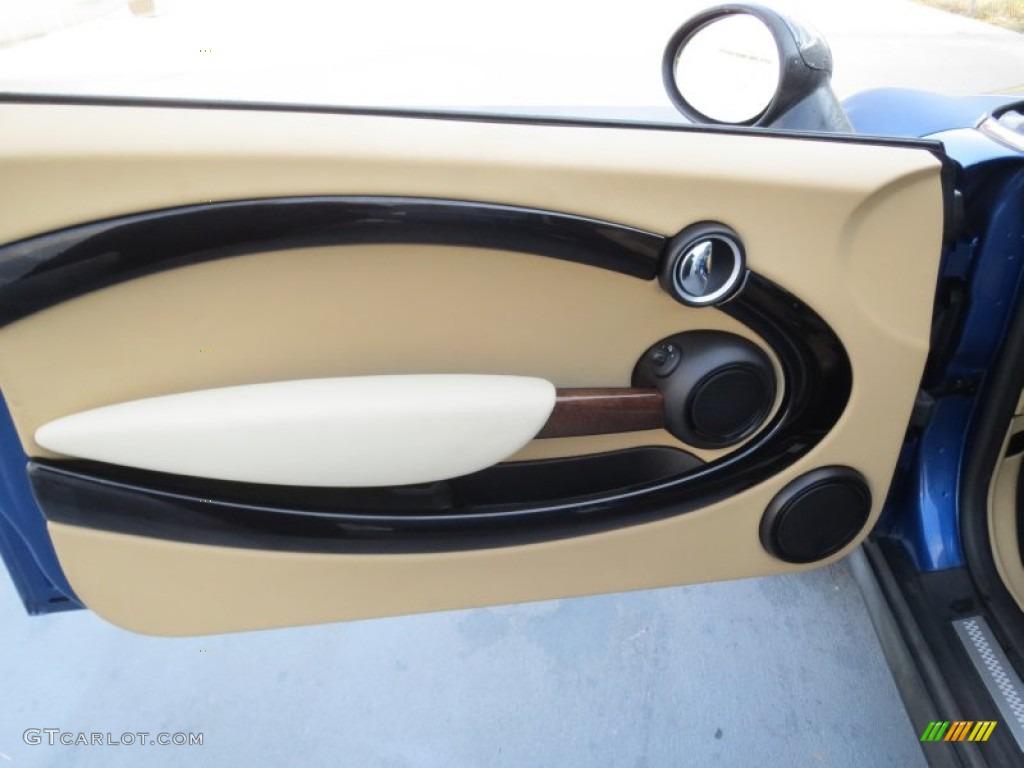 2008 mini cooper s clubman gravity tuscan beige door panel. Black Bedroom Furniture Sets. Home Design Ideas